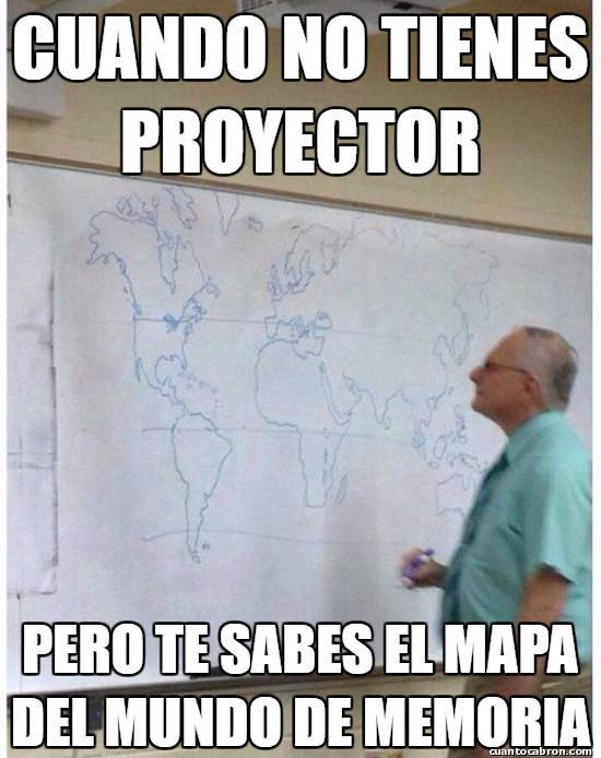Meme_otros - Yo no me sé ni el mapa de mi país