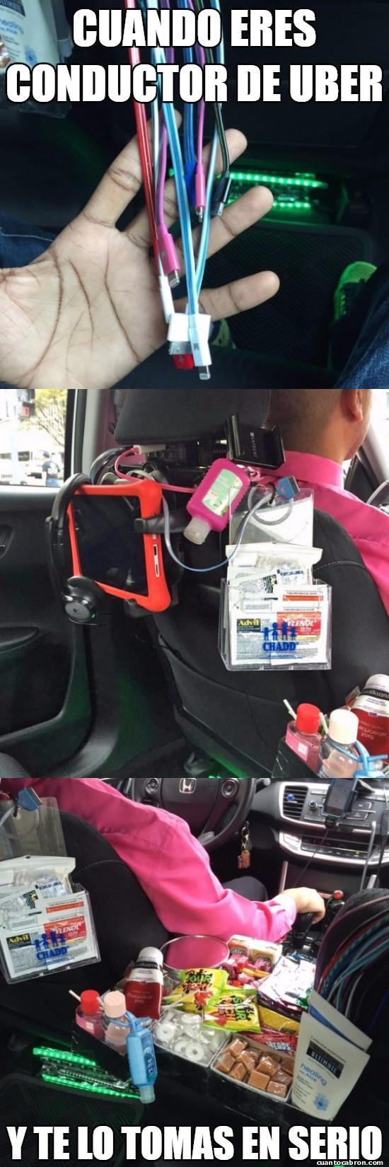 Meme_otros - Este es sin lugar a dudas el mejor conductor de Uber del muno