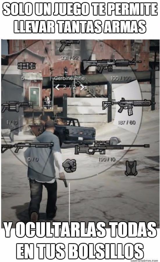 armas,GTA,increible