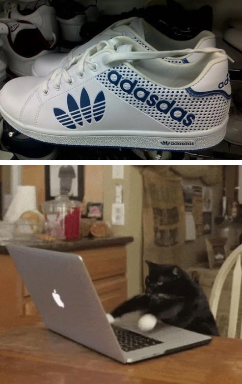 Meme_otros - Descubierto el diseñador de estas geniales zapatillas