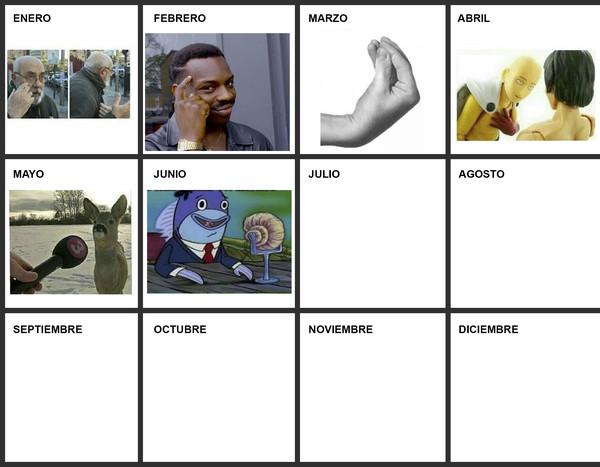 Meme_otros - Actualizando el calendario de memes