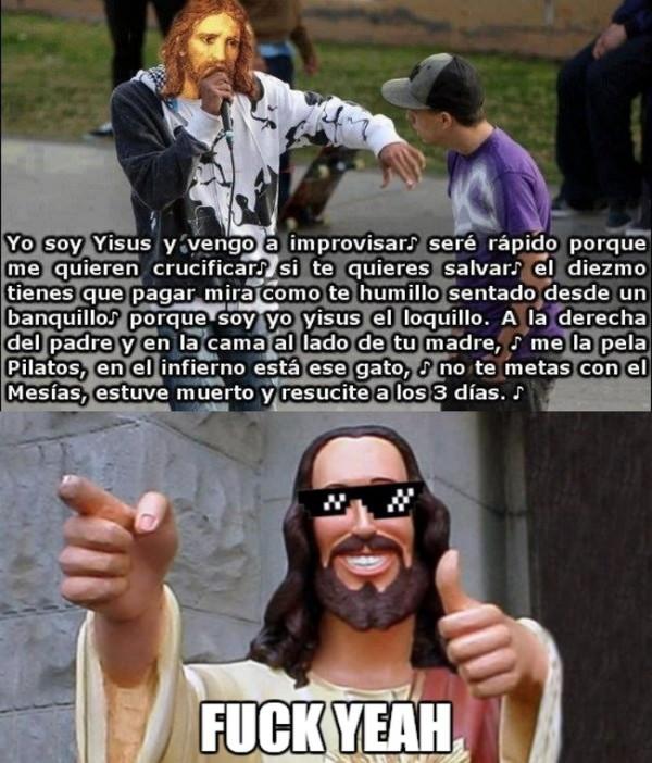 Meme_otros - Yisus, el Dios del flow