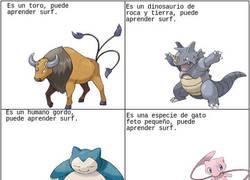 Enlace a La lógica en Pokémon con el Surf