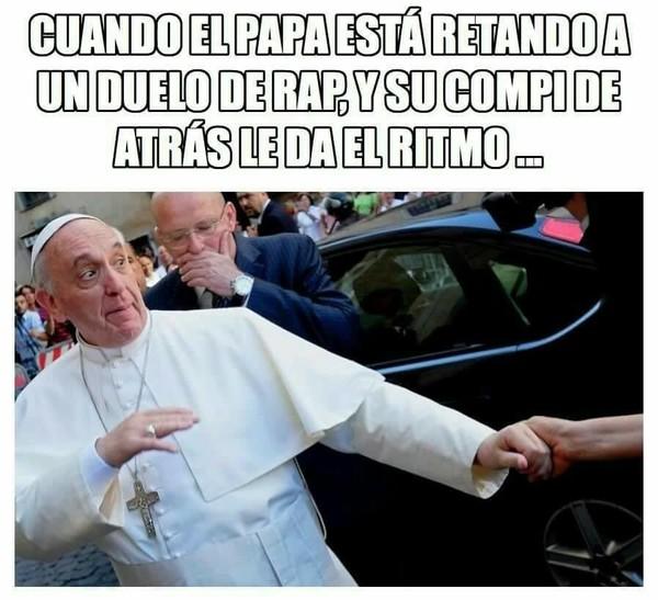 Meme_mix - El papa rapero