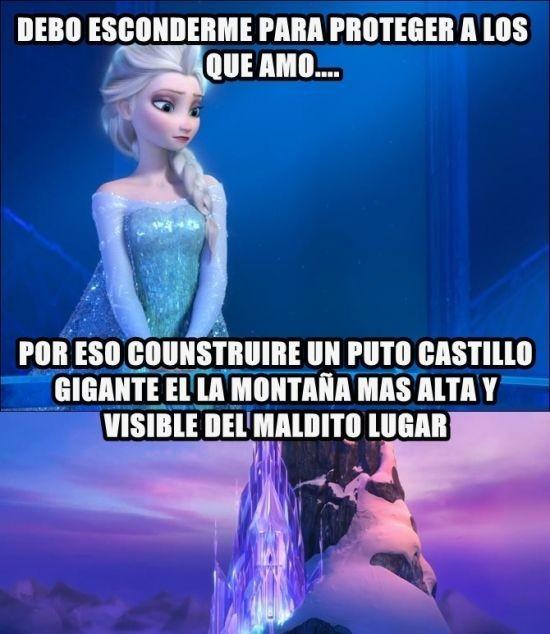 Meme_otros - Frozen y sus lógicas