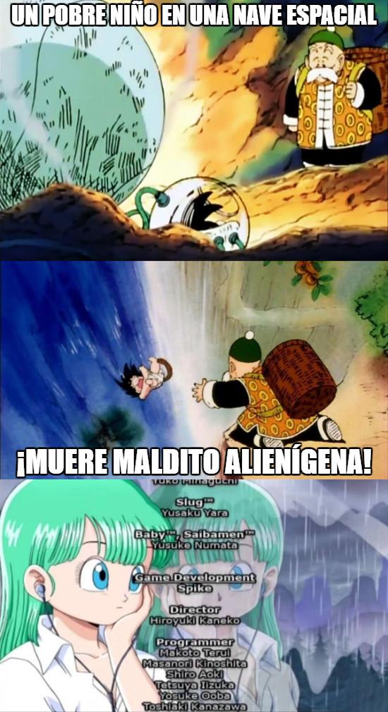 Meme_otros - Y así de rápido podría haber terminado Dragon Ball