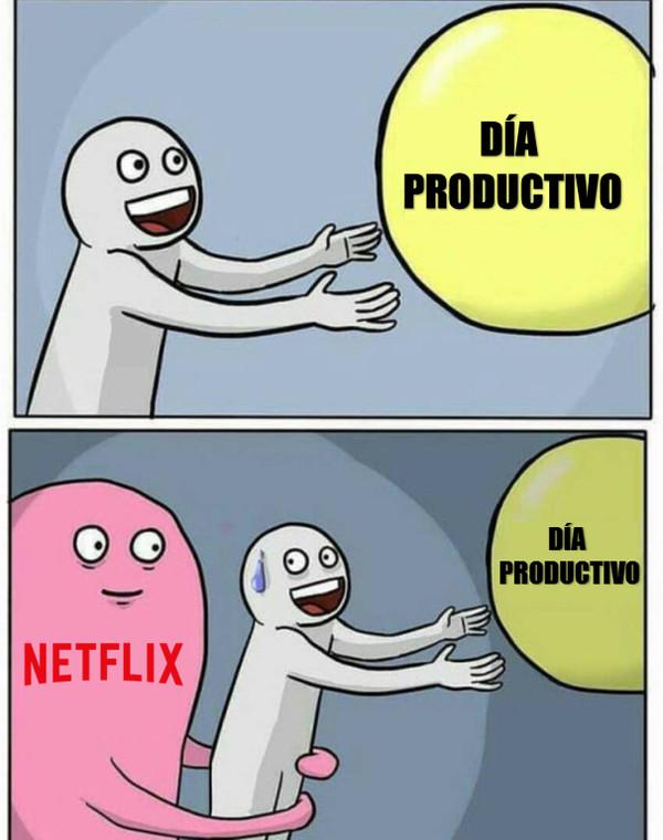 Meme_otros - Netflix puede ser muy adictivo