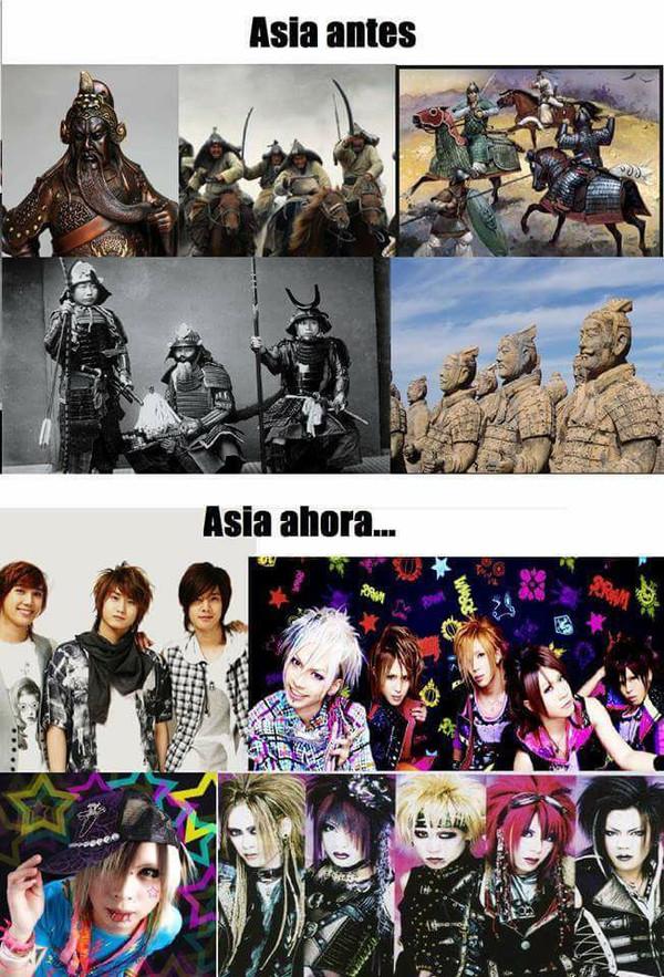 Meme_otros - Los cambios que ha sufrido la cultura asiática