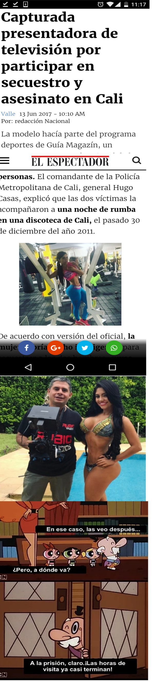 Why_not - Lío con esta presentadora colombiana