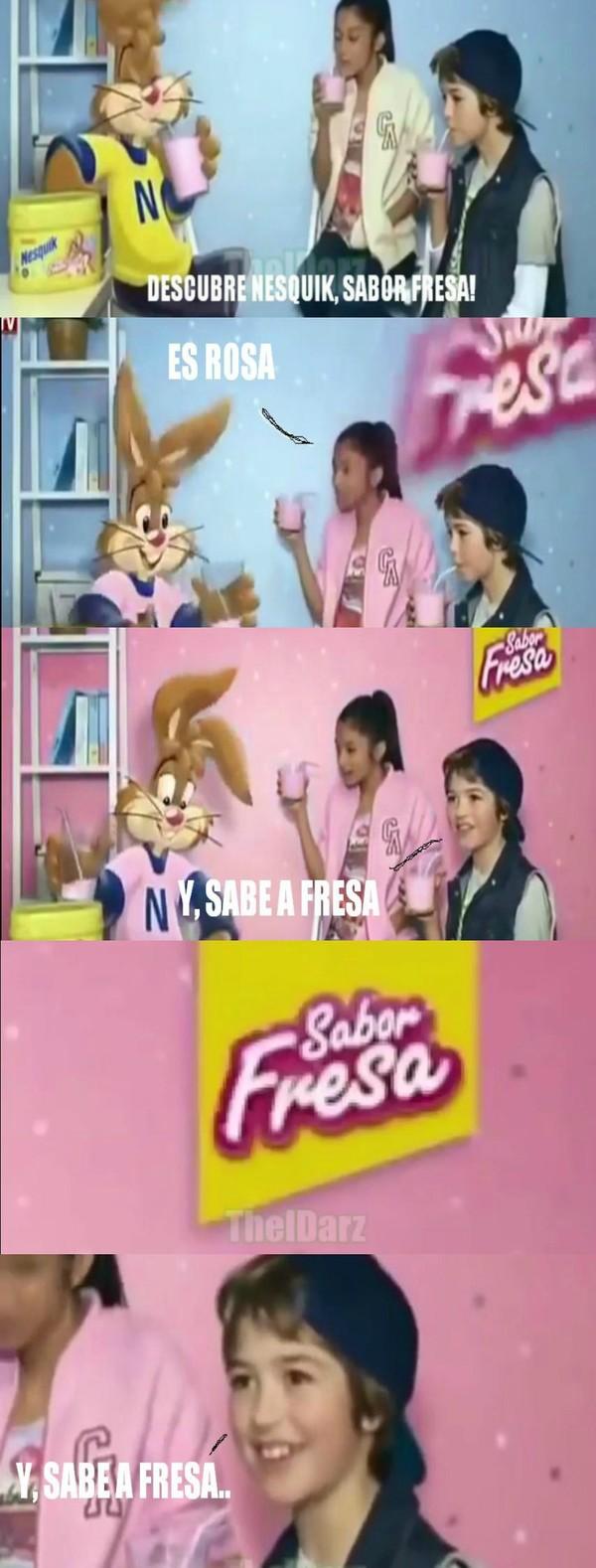 Meme_otros - Y, sabe a fresa :O