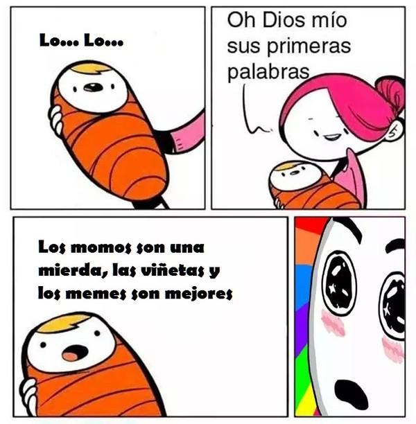Meme_otros - Este bebé es un futuro presidente