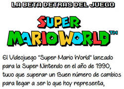 Enlace a Beta de Super mario world
