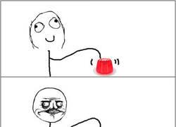Enlace a El placer de tocar la gelatina