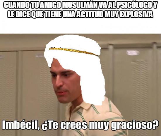 Meme_otros - ¿Por qué a todos los árabes los tildan de terroristas?