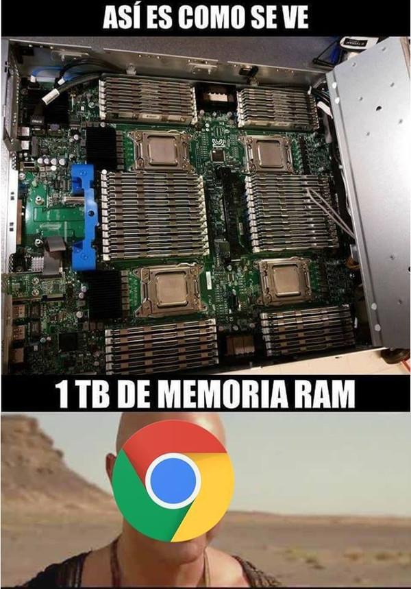 Meme_otros - ¿Memoria ram?, desayuno, comida y cena para Chrome
