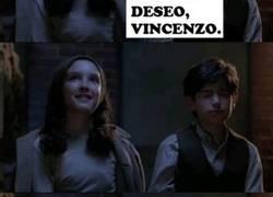 Enlace a Vincenzo pensó en el deseo más +18 que le vino a la cabeza