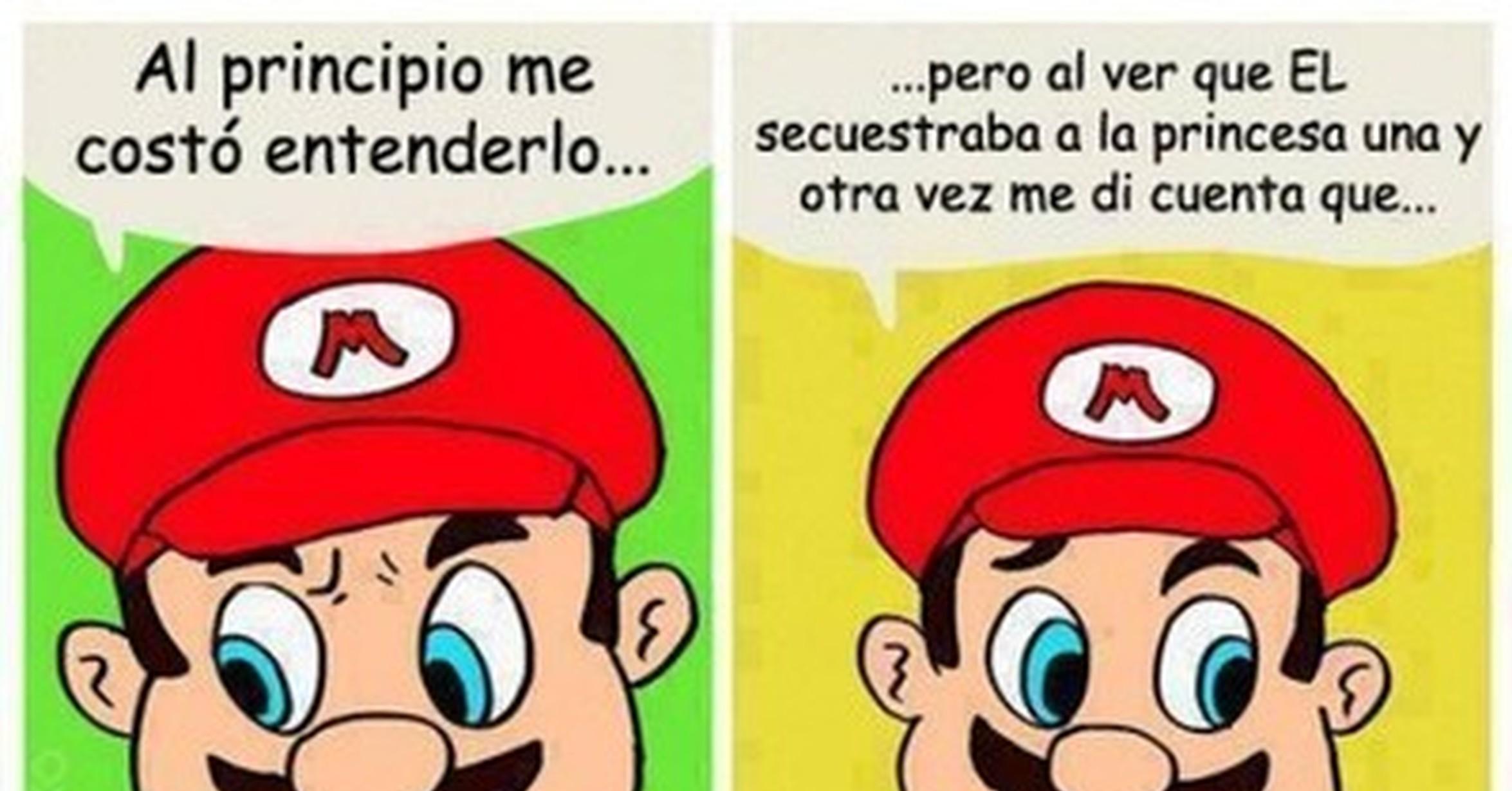 Cuánto Cabrón / El Comic LGBT De Mario Y Bowser Que Te