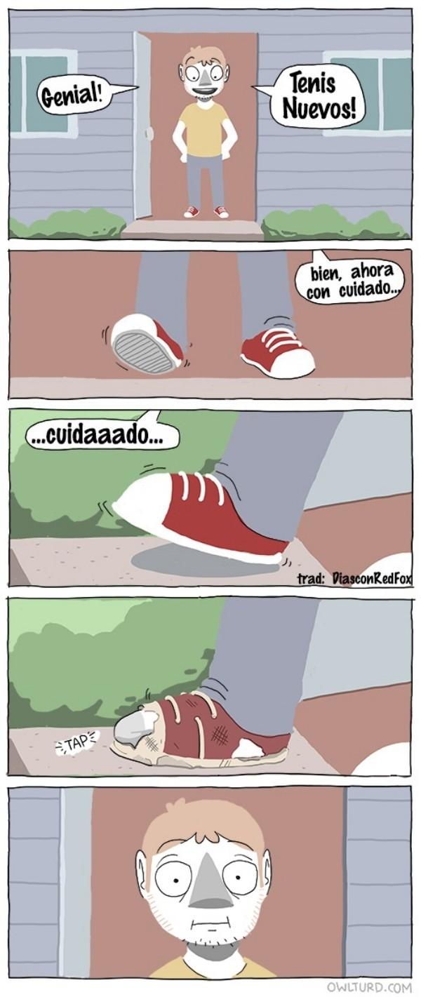 Otros - El problema al estrenar calzado