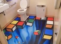 Enlace a Si entras borracho a este baño no llegas...