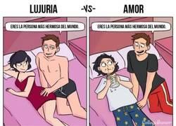 Enlace a Lujuria vs Amor, no hay término medio