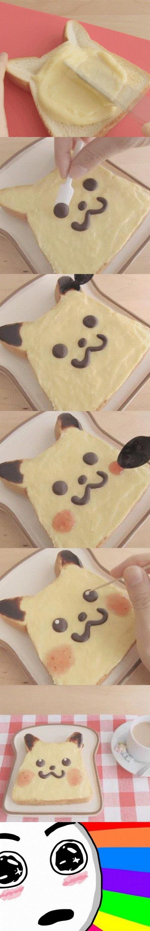 Amazed - Tostada de Pikachu