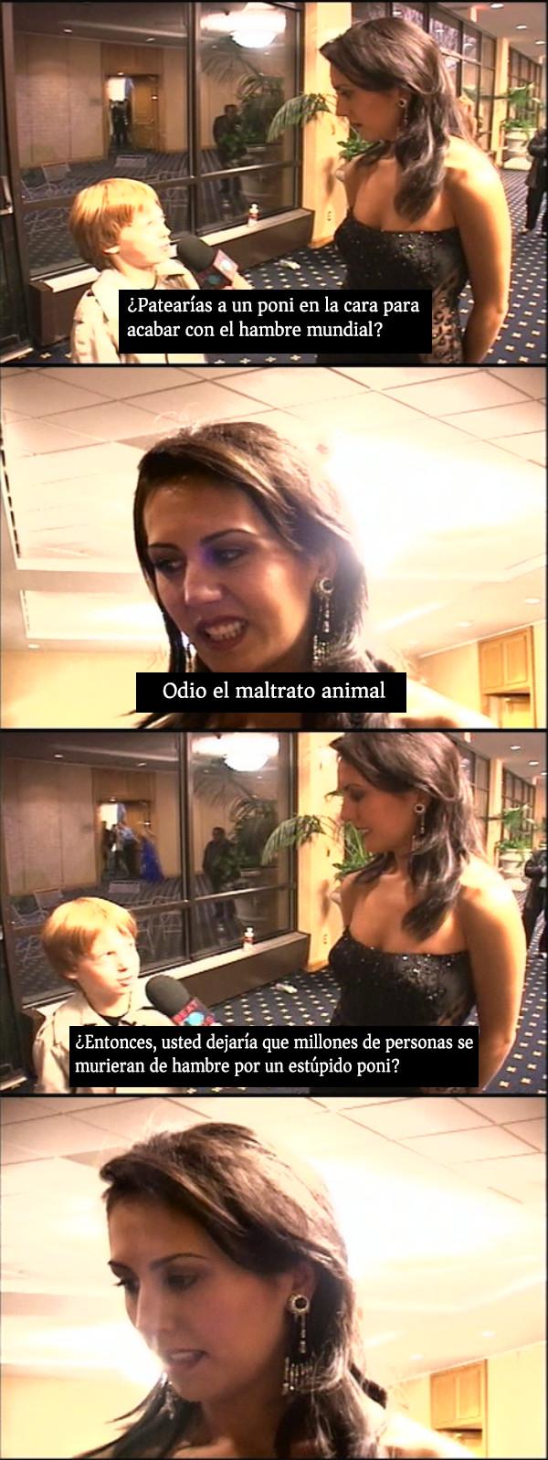 Otros - Este niño apunta alto como periodista