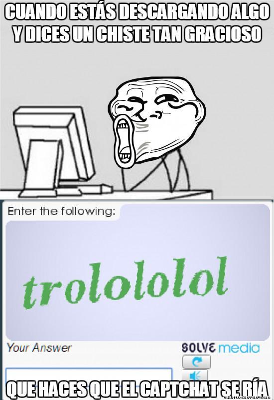 Trollface - ¿Tan gracioso era el chiste?