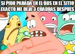 Enlace a La realidad de ir en autobús