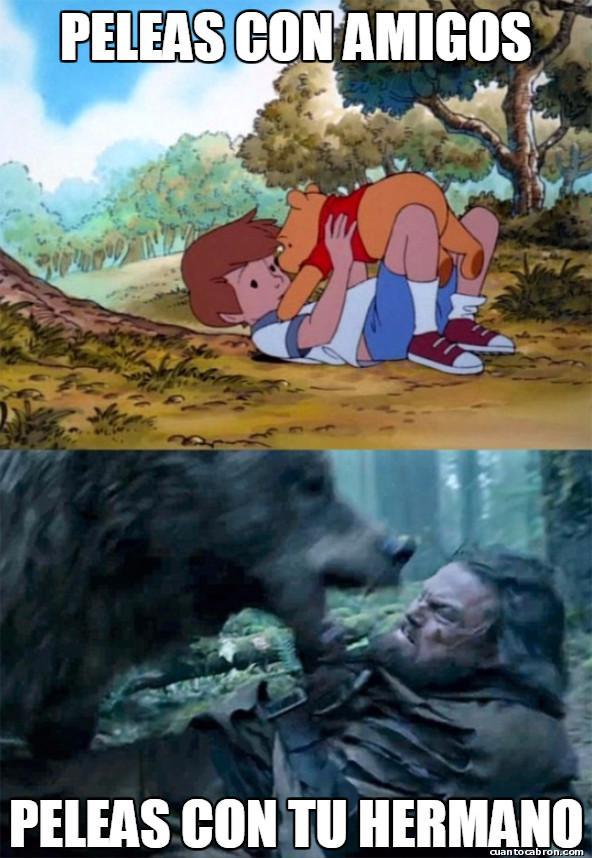 Bear_leo - Tipos de peleas