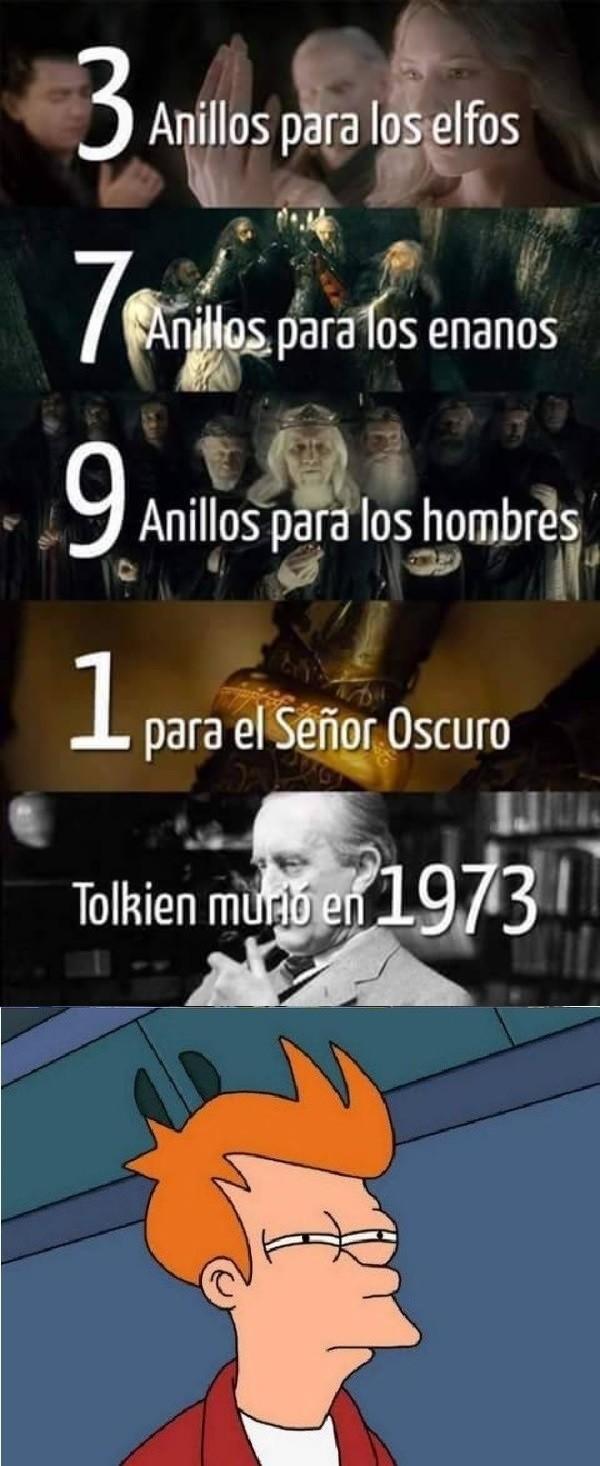 Meme_otros - Se confirma a Tolkien como Illuminati