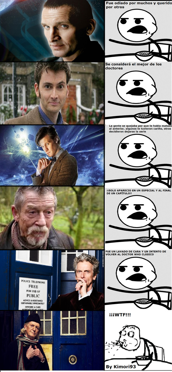 Cereal_guy - Argus Filch o Walder Frey como Doctor Who
