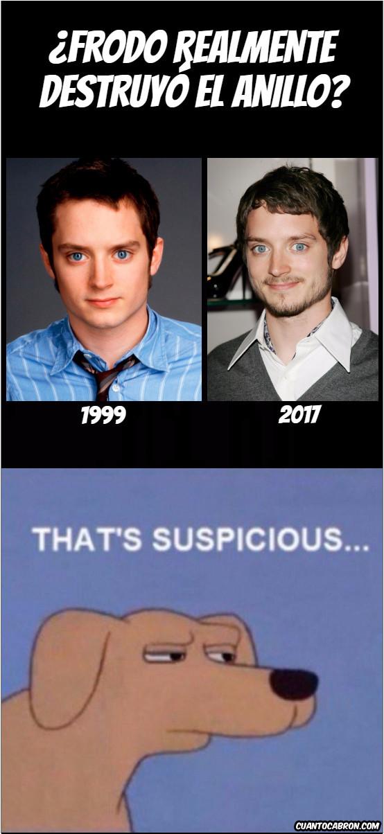 Meme_otros - ¿Dónde lo escondes, Frodo?