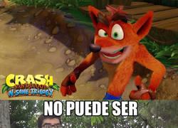 Enlace a El remaster de Crash Bandicoot me hace llora rde emoción