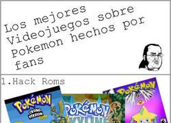 Enlace a Videojuegos de Fans Pokémon