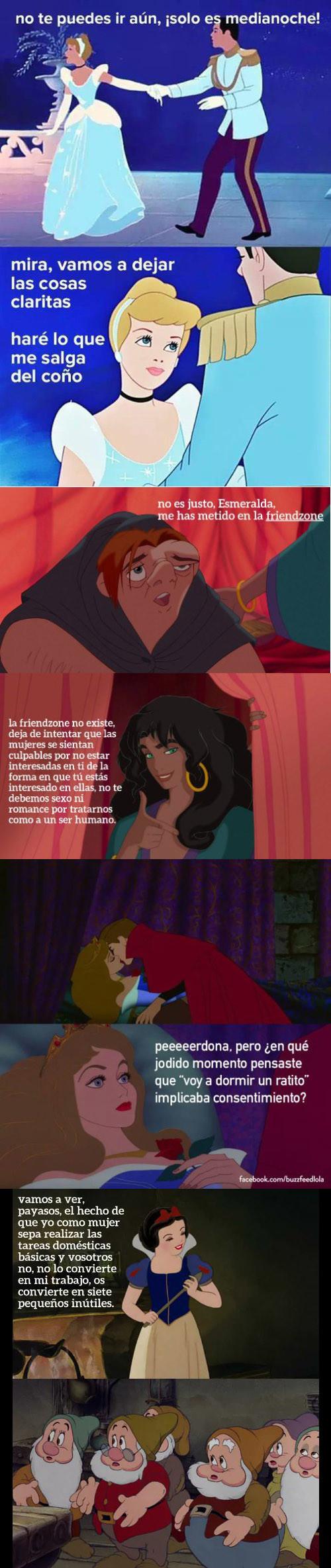 Meme_otros - Actualizando los clásicos de Disney