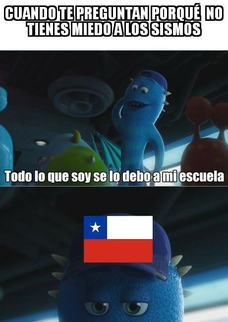 Meme_otros - Los chilenos están a otro nivel en ese tema