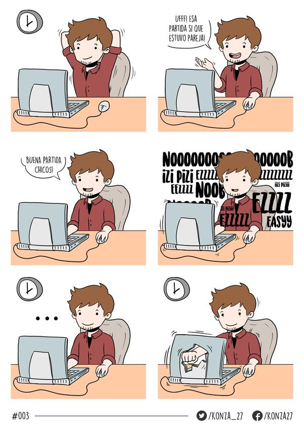 comics,gamer,historieta,konza,ordenador