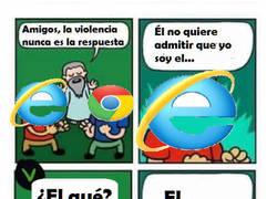 Enlace a ¡Eres el navegador más rápido?, por favor, ¿no te sabes otro chiste?