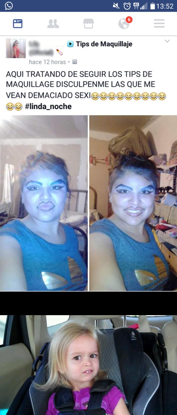 Meme_otros - Eran tips de maquillaje de payaso