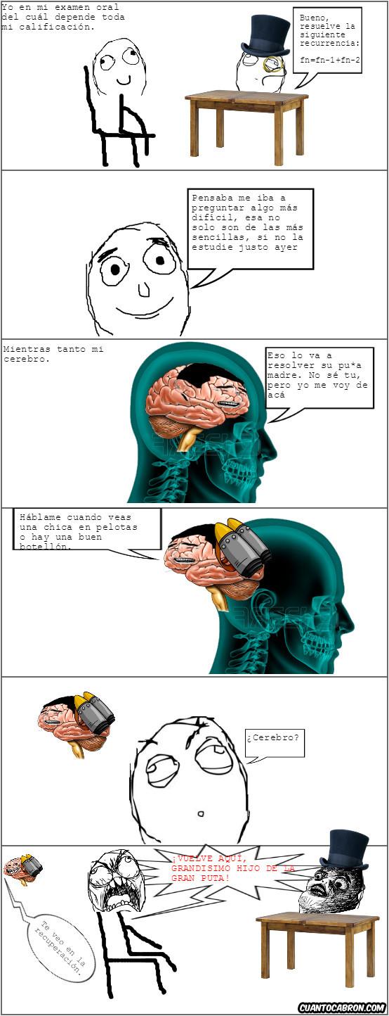 Otros - Bloqueo mental en pleno examen