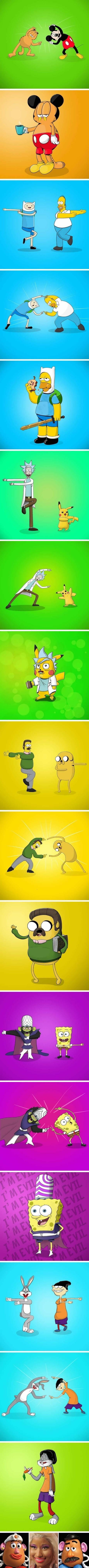 Meme_otros - El resultado de fusionar dos caricaturas