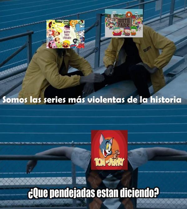 Meme_otros - Alabad todos al verdadero rey de la violencia