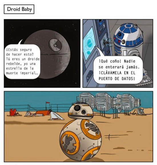 Otros - Así nació el BB-8 de Star Wars