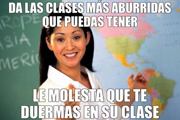 Profesora_cabrona - Las incoherencias de algunos profesores