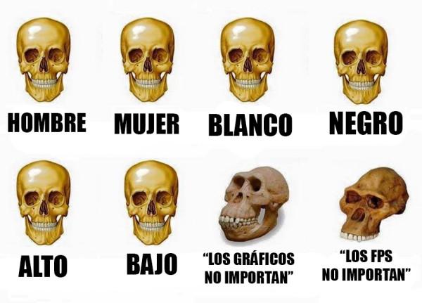 Meme_otros - Algunas personas se quedaron atrás en la evolución