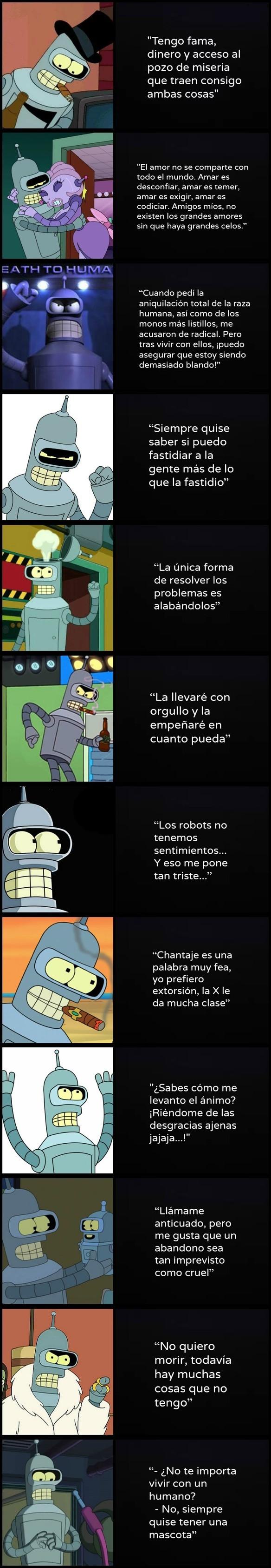 Otros - Bender, un modelo a seguir