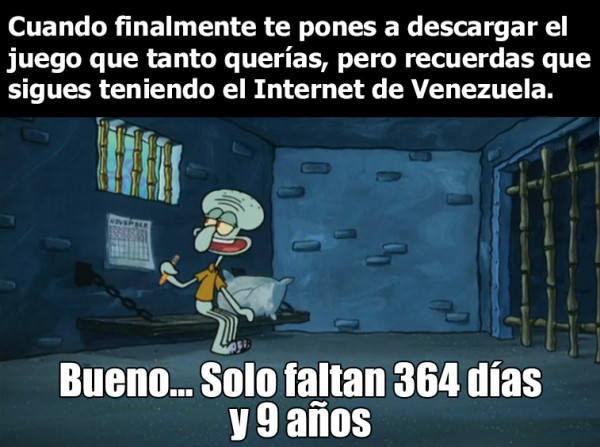 Meme_otros - La velocidad de Internet más lenta de toda Latinoamérica