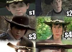 Enlace a La evolución de Carl en TWD