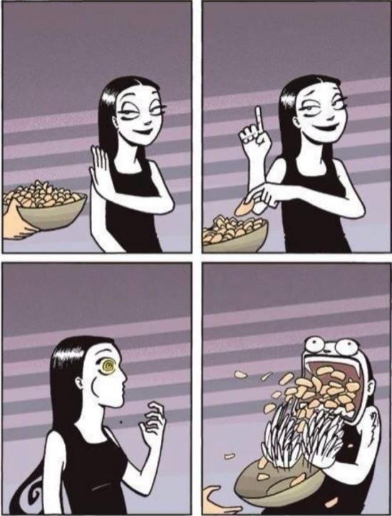 Otros - Es imposible comer sólo una