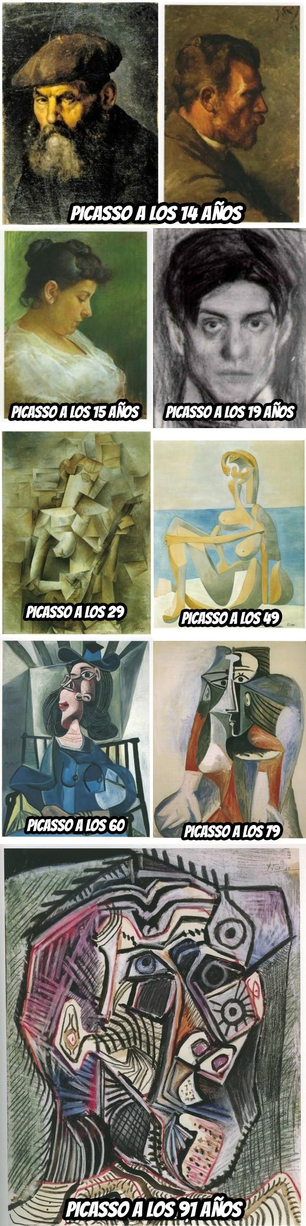 Otros - ¿Qué diantres le pasó a Picasso?